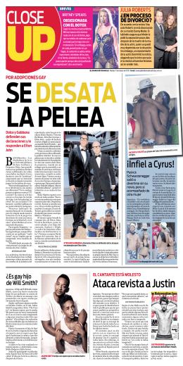 Ataca revista a Justin - El Diario de Coahuila