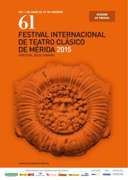 Programación - Festival de Teatro Clásico de Mérida