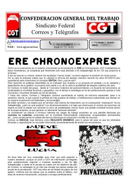 ERE CHRONOEXPRES