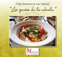 II Guía Gastronómica de cocina tradicional