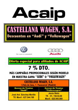CASTELLANA WAGEN, S.A.