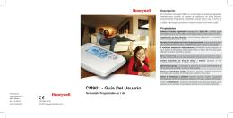 CM901 - Guía Del Usuario