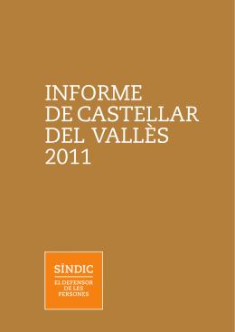 INFORME DE CASTELLAR DEL VALLÈS 2011