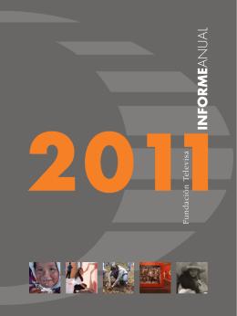 Informe Anual 2011 - Fundación Televisa