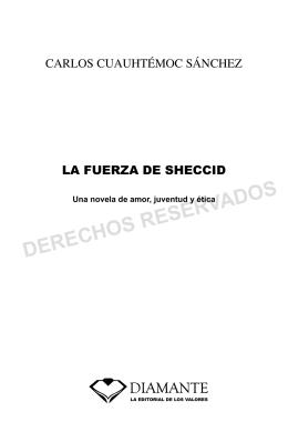 DERECHOS RESERVADOS - Carlos Cuauhtemoc Sanchez