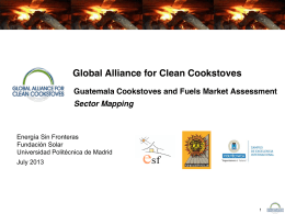 Executive summary - Global Alliance for Clean Cookstoves