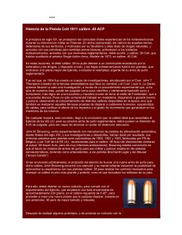 ...HISTORIA DE LA COLT .45