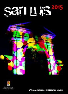 Programa - Ayuntamiento de San Ildefonso