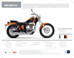 BOULEVARD S40 MOTOS