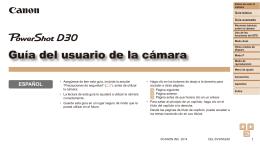 Guía del usuario de la cámara