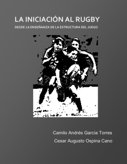 la iniciación al rugby - VIREF - Biblioteca Virtual de Educación Física