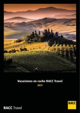 Vacaciones en coche RACC Travel