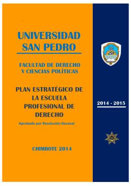 UNIVERSIDAD SAN PEDRO - Aula Virtual Facultad de Derecho USP