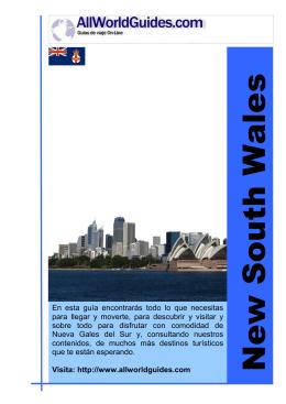 Nueva Gales del Sur y Sydney Allworldguides.com