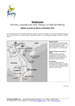 Vietnam > Poblados del norte, Halong Bay y Delta