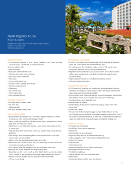 Hyatt Regency Aruba Resort Spa & Casino