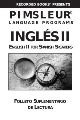 INGLÉS II - Recorded Books