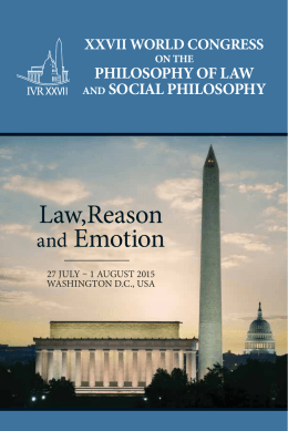 Law,Reason and Emotion