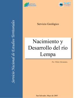 Nacimiento y Desarrollo del río Lempa
