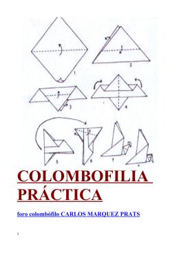 COLOMBOFILIA PRÁCTICA - Carlos Márquez Prats
