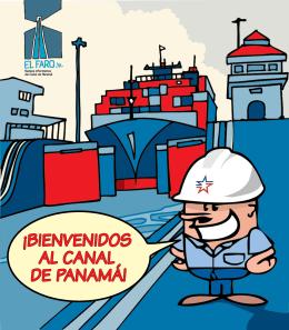 ¡BIENVENIDOS AL CANAL DE PANAMÁ!