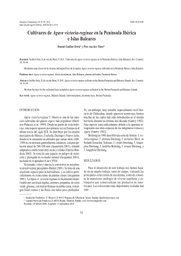 Cultivares de Agave victoria-reginae en la Península Ibérica e Islas