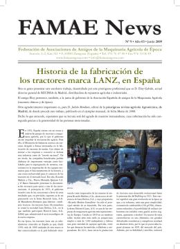 Historia de la fabricación de los tractores marca LANZ, en
