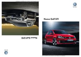 Catálogo VW Golf
