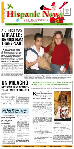 MIRACLE: - Kansas City Hispanic News