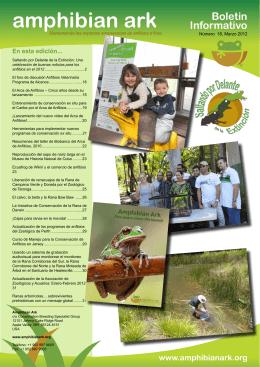 Boletín No. 18 Marzo 2012