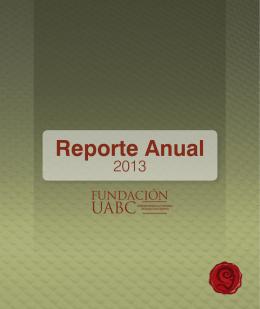 Reporte Anual - Fundación UABC
