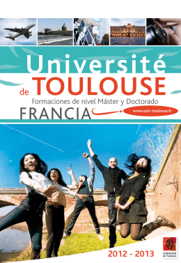 1 - Université de Toulouse