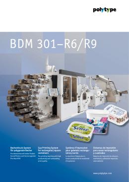 BDM 301–R6/R9 - wifag