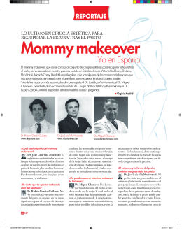 Mommy makeover - Vila Moriente