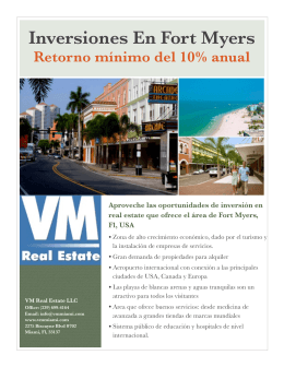 Inversiones En Fort Myers