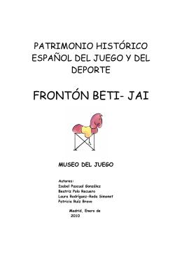 FRONTÓN BETI JAI MADRID