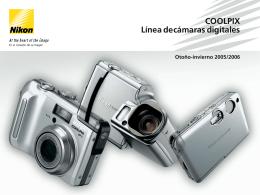 COOLPIX Línea de cámaras digitales