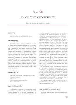 Tema 58 FOLICULITIS Y SEUDOFOLICUTIS