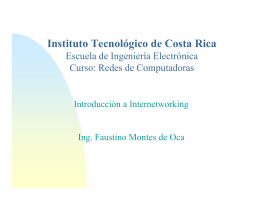 1.0IntroduccionInternetworking