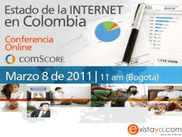 Estado de la Internet en Colombia (comScore)