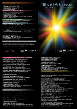 Nit de l`Art 13/5/2011
