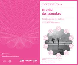 El valle del asombro - Festival Internacional Cervantino