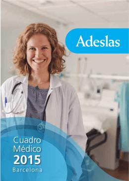 Cuadro Médico Privado Barcelona 2015