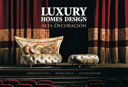 descargar catálogo - Luxury Homes Design