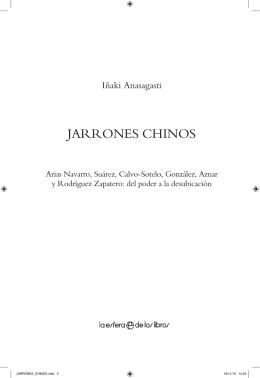 JARRONES CHINOS - La esfera de los libros