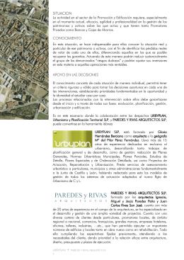 PyR + URBYPLAN - Paredes y Rivas Arquitectos