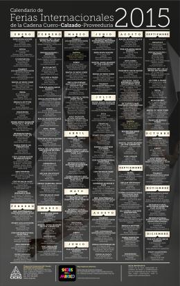 Calendario de Ferias Internacionales