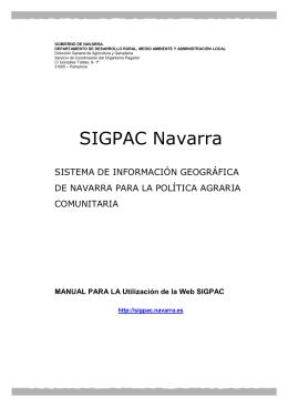 SIGPAC Navarra