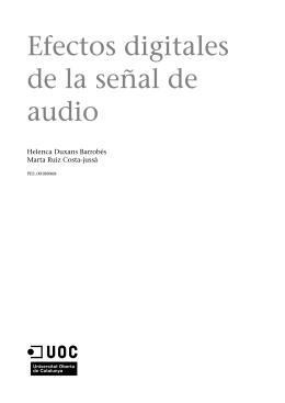 Efectos digitales de la señal de audio