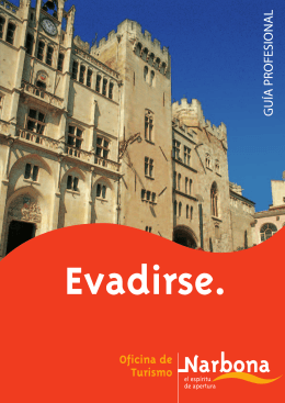 View brochure - Office de Tourisme de Narbonne